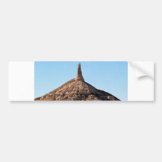 Scottsbluff Nebraska Chimney Rock Spire Bumper Sticker