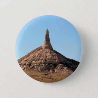 Scottsbluff Nebraska Chimney Rock Spire Button