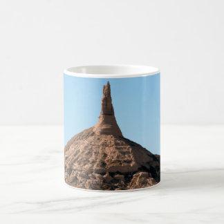 Scottsbluff Nebraska Chimney Rock Spire Coffee Mug