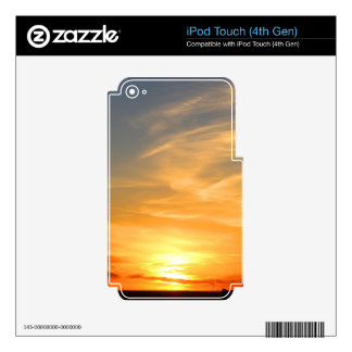 Scottsbluff Nebraska Farming Harvest Fall Sunset iPod Touch 4G Decals
