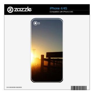 Scottsbluff Nebraska Farming Harvest Fall Sunset Skin For The iPhone 4S