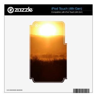 Scottsbluff Nebraska Farming Harvest Fall Sunset Skins For iPod Touch 4G