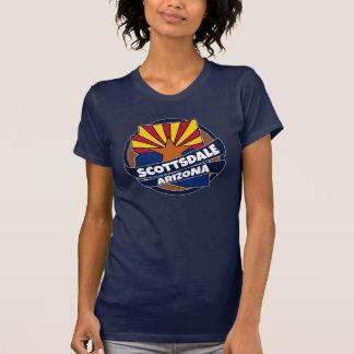 Scottsdale Arizona flag burst tshirt
