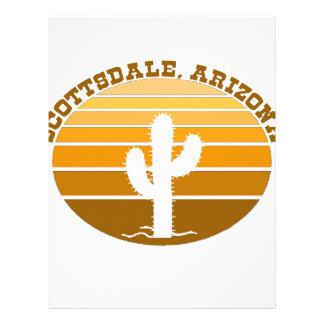 Scottsdale, Arizona Plantilla De Membrete