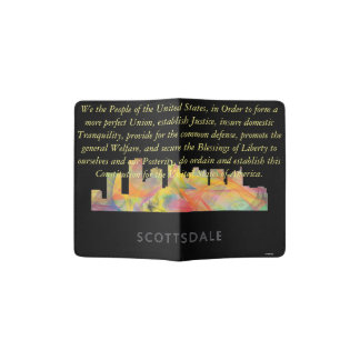 SCOTTSDALE, ARIZONA SKYLINE WB1 - PASSPORT HOLDER
