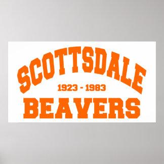 Scottsdale Beavers Poster