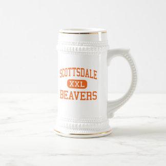 Scottsdale - castores - alto - Scottsdale Arizona Jarra De Cerveza