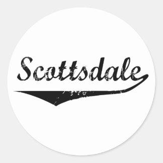 Scottsdale Classic Round Sticker