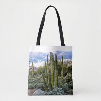 Scottsdale Succulent Sunset Tote Bag