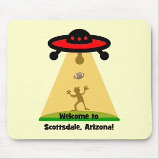 Scottsdale UFOs Mouse Pad