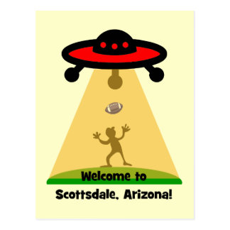 Scottsdale UFOs Postcard