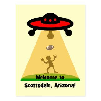 Scottsdale UFOs Tarjetas Postales