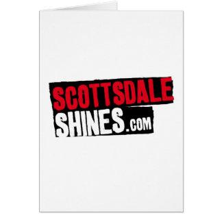 ScottsdaleShines Tarjeta De Felicitación