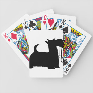 Scotty Dog and Leash Poker Deck