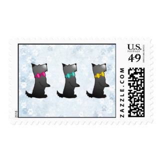 Scotty Dog Galore Postage Stamps