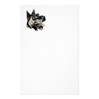 Scotty Dog Stationary Personalized Stationery