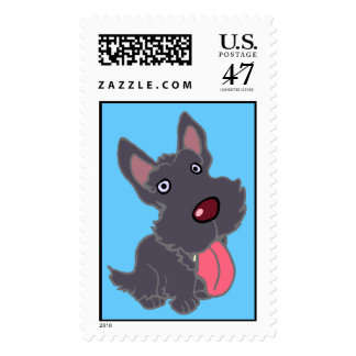 SCOTTY PUPPY STAMP