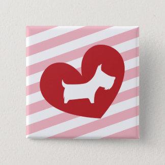 Scotty Valentine Button