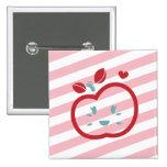 Scotty Valentine Sweet Apple Button
