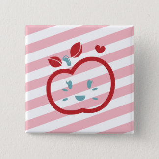 Scotty Valentine Sweet Apple Pinback Button