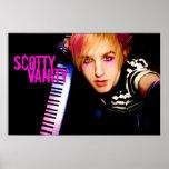 Scotty Vanity Keyboards Poster