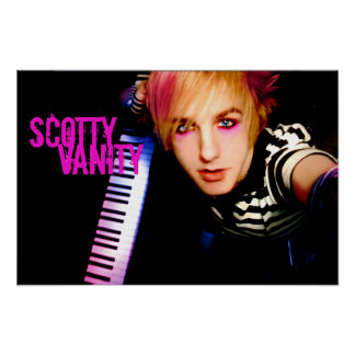Scotty Vanity Keyboards Poster