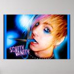 Scotty Vanity Scissors Poster