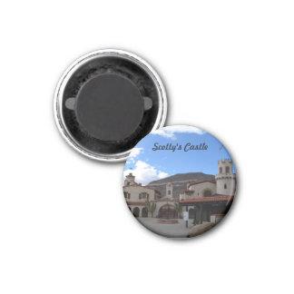 Scottys Castle Front, DVNP 1 Inch Round Magnet