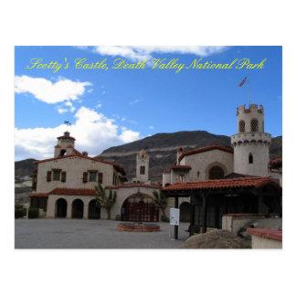 Scottys Castle Front, DVNP Postcard