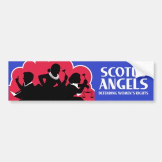 SCOTUS Angels – Nonviolent (Gun-Free) Edition Bumper Sticker