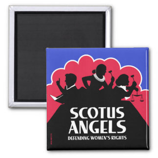 SCOTUS Angels – Nonviolent (Gun-Free) Edition Magnet