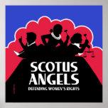 SCOTUS Angels – Nonviolent (Gun-Free) Edition Poster