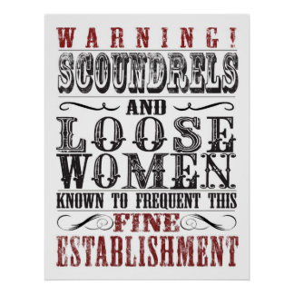 Scoundrels and Loose Women Poster