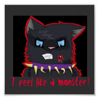 Scourge Feels Like a Monster! Poster