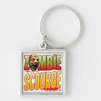 Scourge Zombie Head Keychain