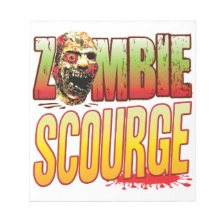 Scourge Zombie Head Notepad