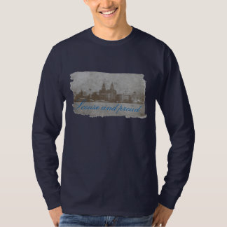 Scouse and proud long sleeved mens top