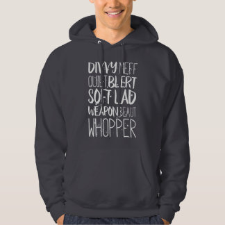 Scouse Insults Liverpool Dialect Hoodie