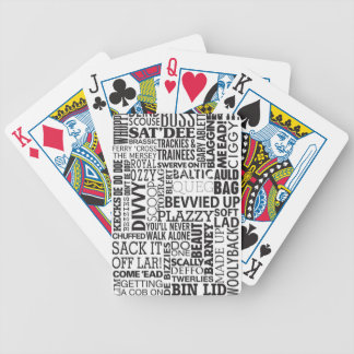Scouse Words & Phrases Bicycle Playing Cards
