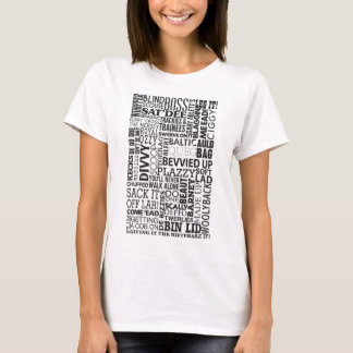 Scouse Words & Phrases T-Shirt