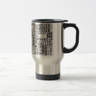 Scouse Words & Phrases Travel Mug