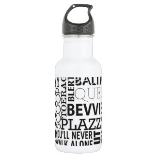 Scouse Words & Phrases Water Bottle
