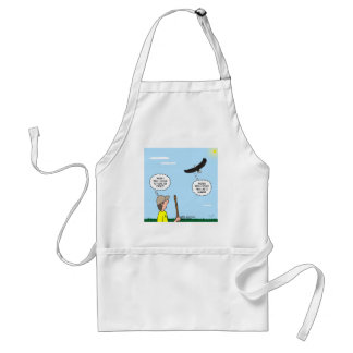Scout and Eagle Thoughts Adult Apron
