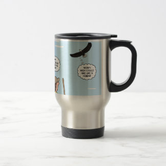 Scout and Eagle Thoughts Travel Mug