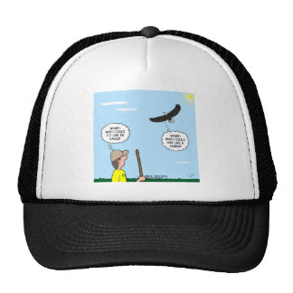 Scout and Eagle Thoughts Trucker Hat