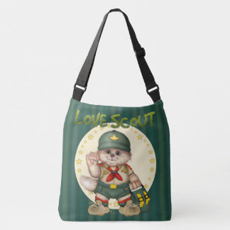 SCOUT CAT All-Over-Print Cross Body  Large Crossbody Bag