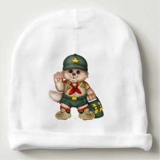SCOUT CAT Baby Cotton Beanie