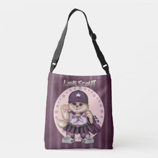 SCOUT CAT GIRL All-Over-Print Cross Body Ba MEDIUM Crossbody Bag
