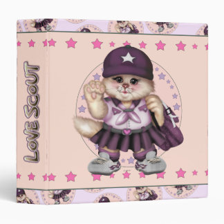 "SCOUT CAT GIRL Avery Signature 1.5"" Binder"