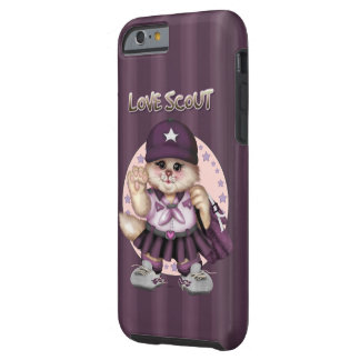 SCOUT CAT GIRL CaseMate Barely There iPhone 6/6s C Tough iPhone 6 Case